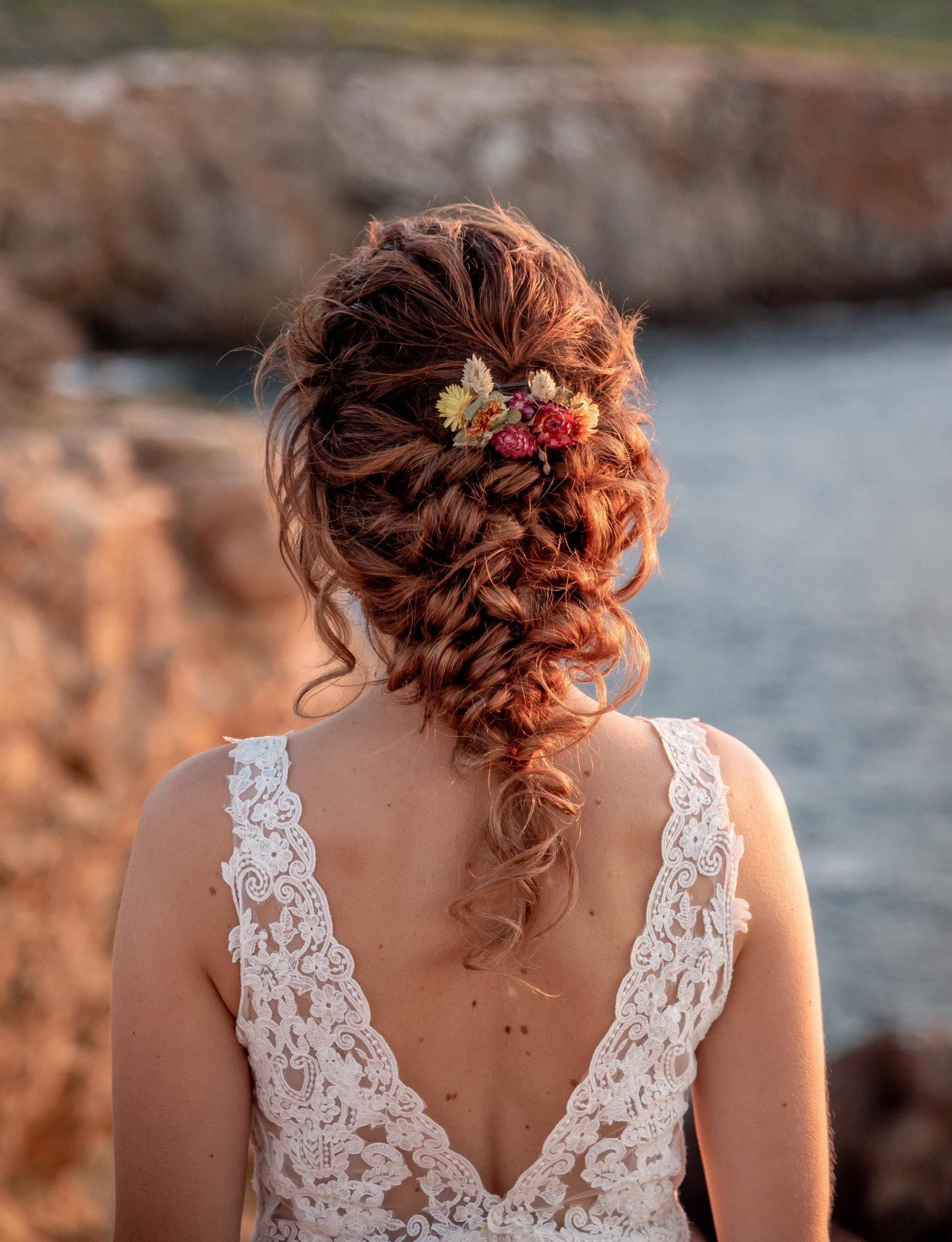 bruidskapsel trouwen op Ibiza