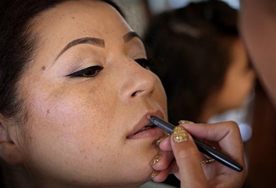 Make-up voor bruid