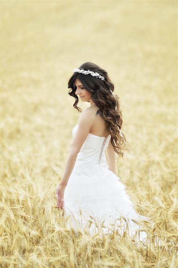 Bruidskapsel los haar